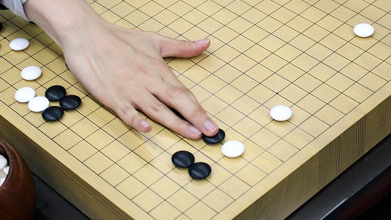 囲碁で強くなる